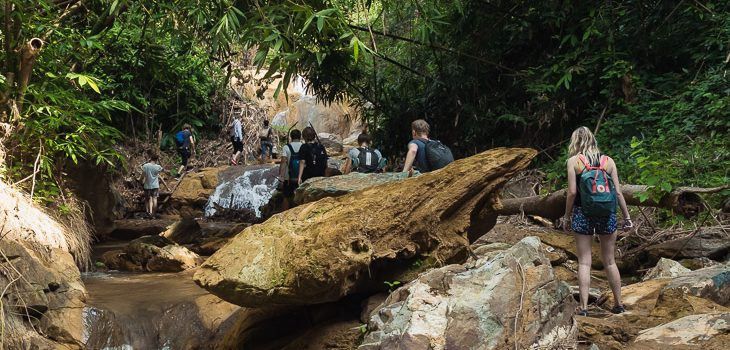 100 waterfalls trek with Tiger Trail, Laos