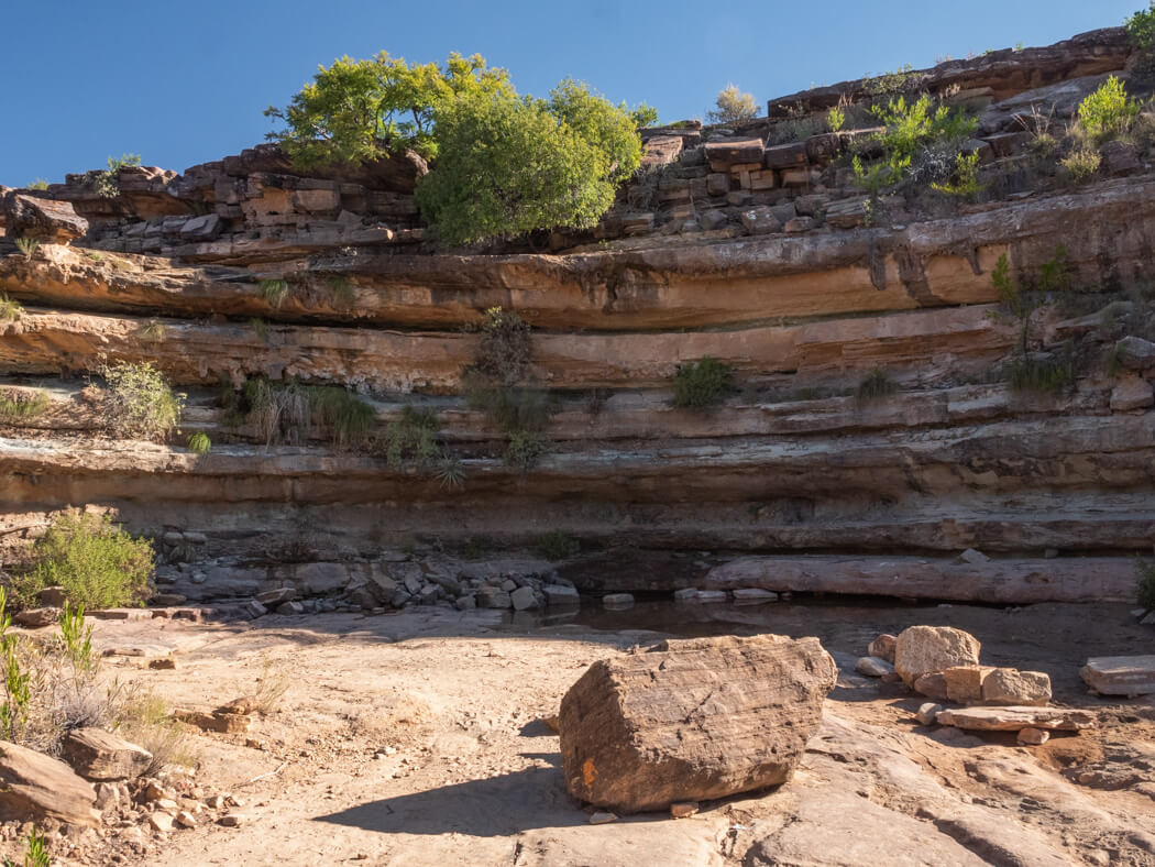 Natural rock formations create an ampitheatre, El Vergel tour, Torotoro National Park, Bolivia