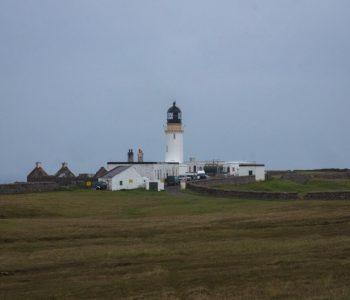 The lighthouse at Cape Wrath, Scotland