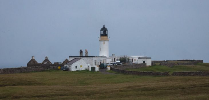 The lighthouse at Cape Wrath, Scotland