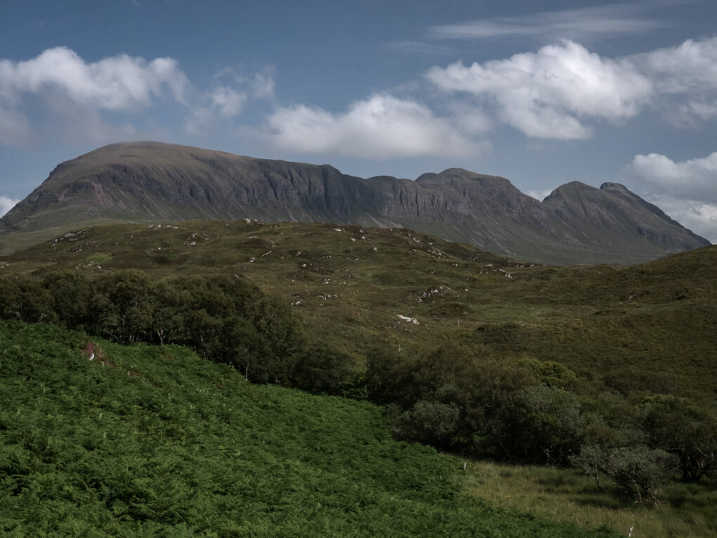 The rocky ridge of Quinag, near Lochinver