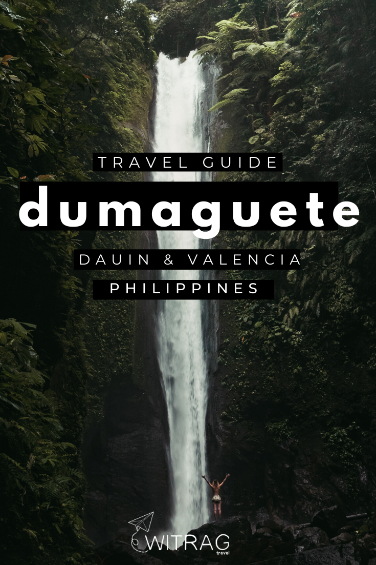 Tourist spots Dumaguete Philippines Pinterest