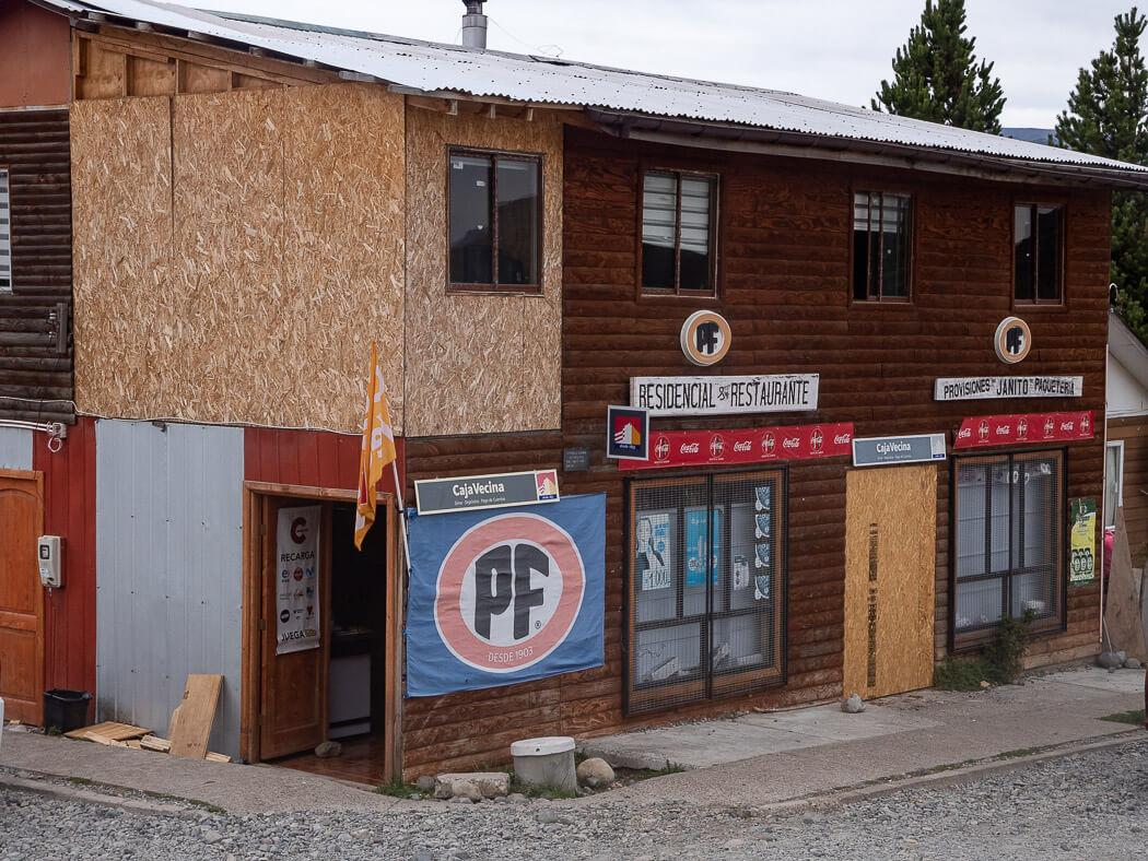 A run-down building provisiones Janito