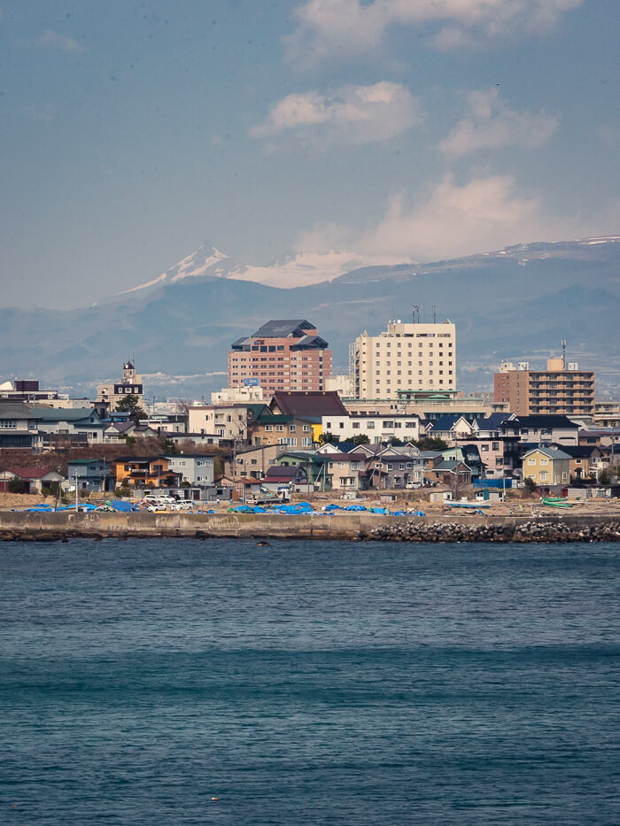 The view of Hakodate from Cape Tachimachi - one of the best things to do in Hakodate